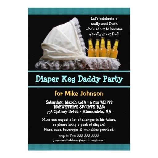 diaper keg party