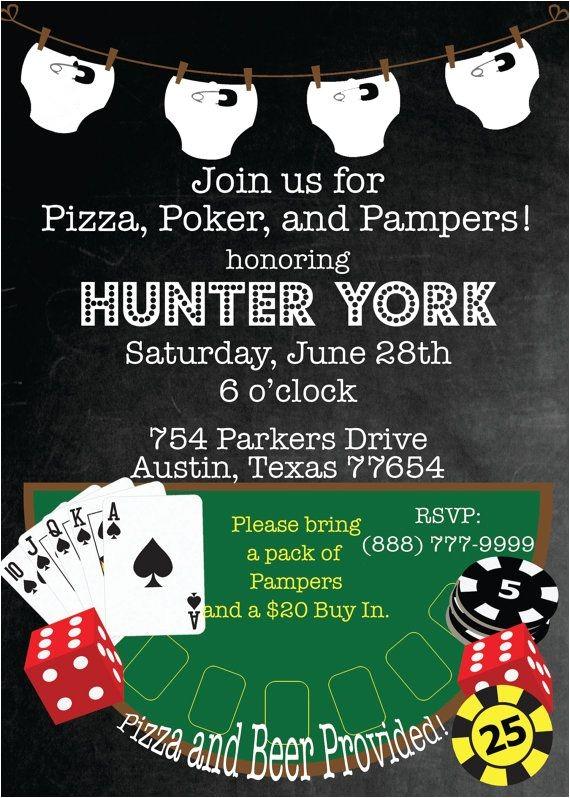 diaper poker party