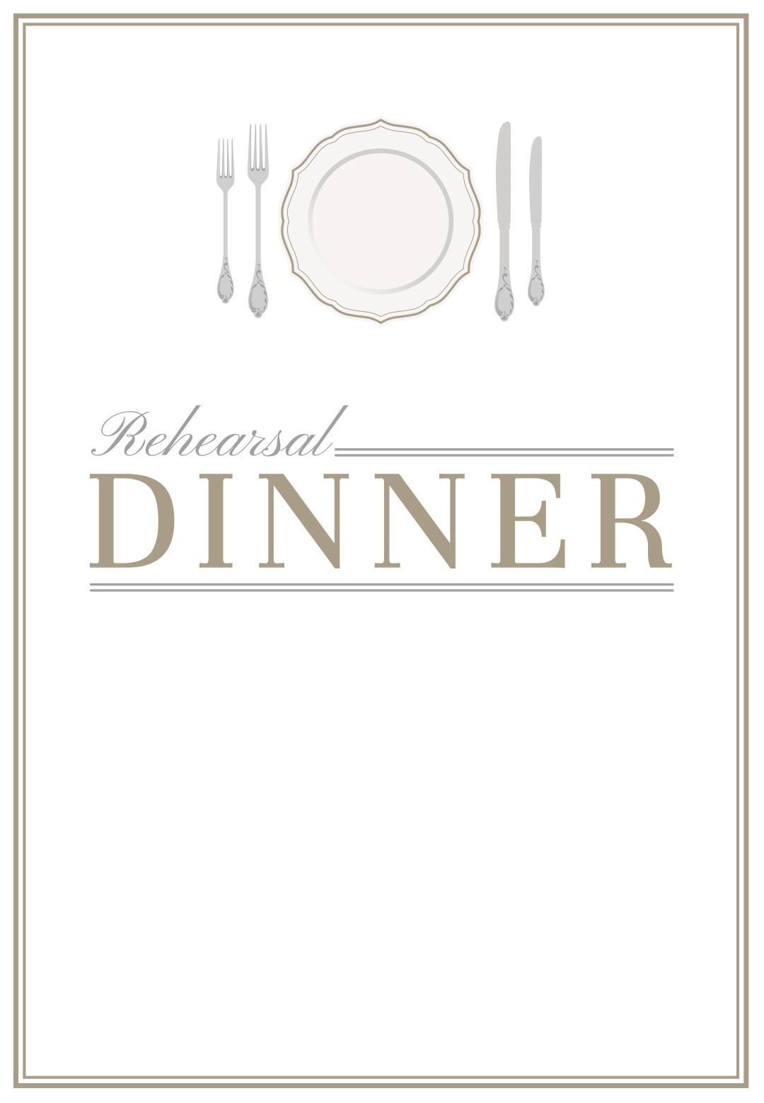 dinner invitation templates free printable