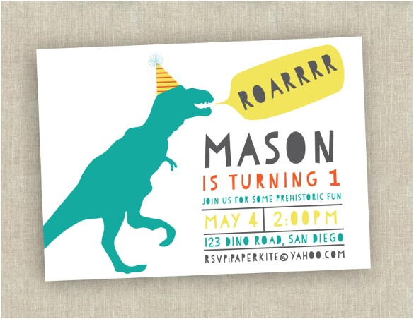 sample first birthday invitation