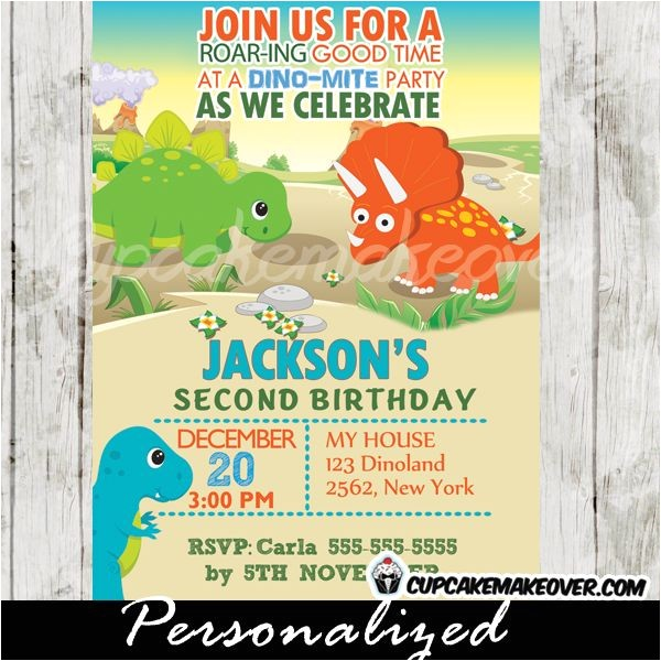 dinosaur party invitations ideas printable