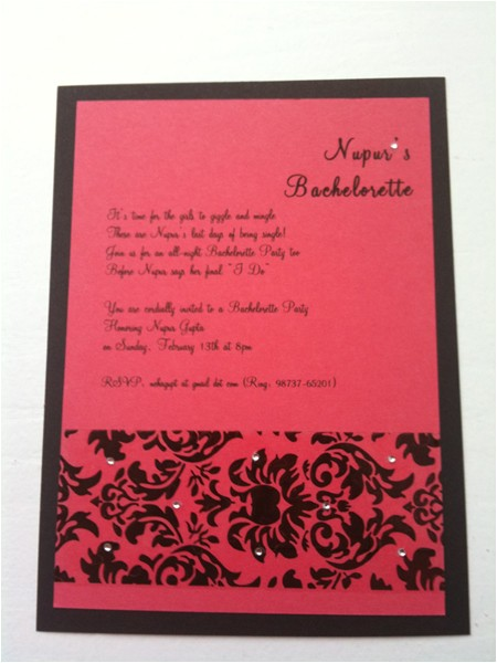 diy bachelorette party invitations in 8 easy steps