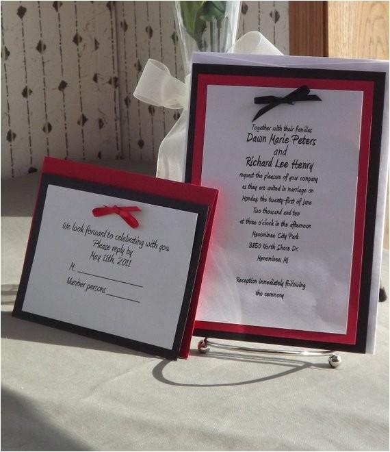 sale diy wedding invitation kits with