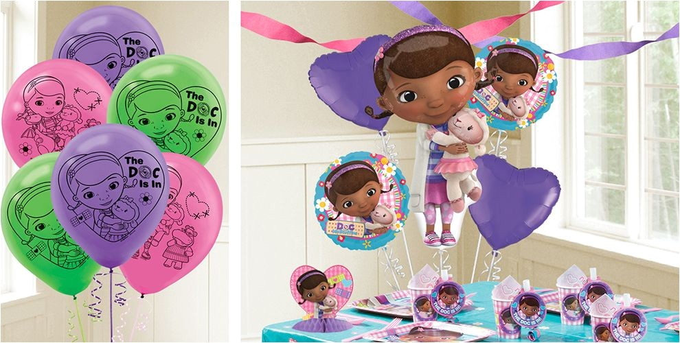 doc mcstuffins balloons do