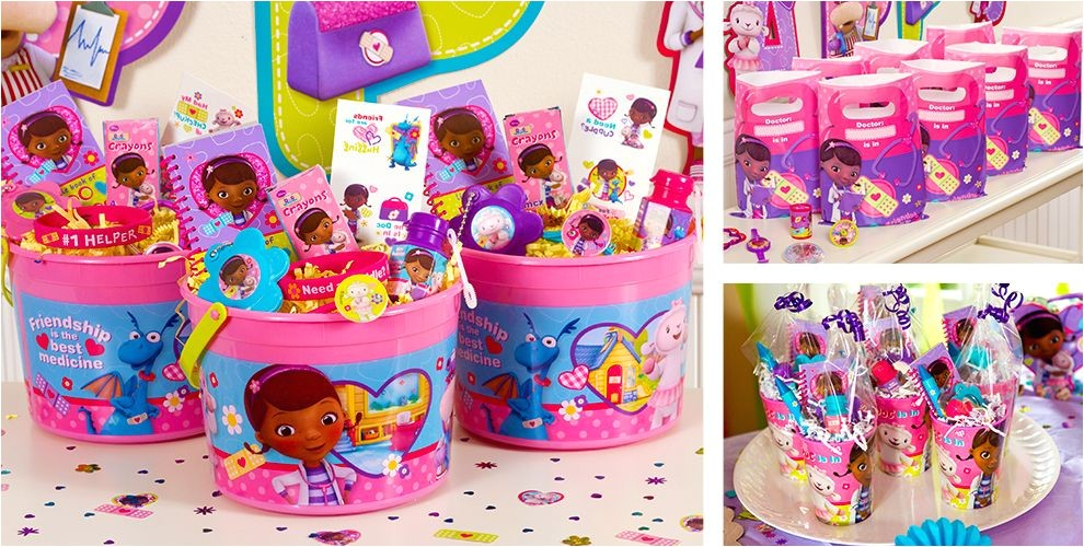 doc mcstuffins party favors do