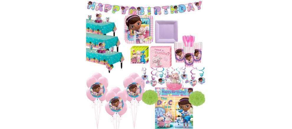 doc mcstuffins party supplies do