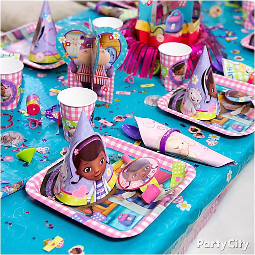 pi doc mcstuffins place setting idea