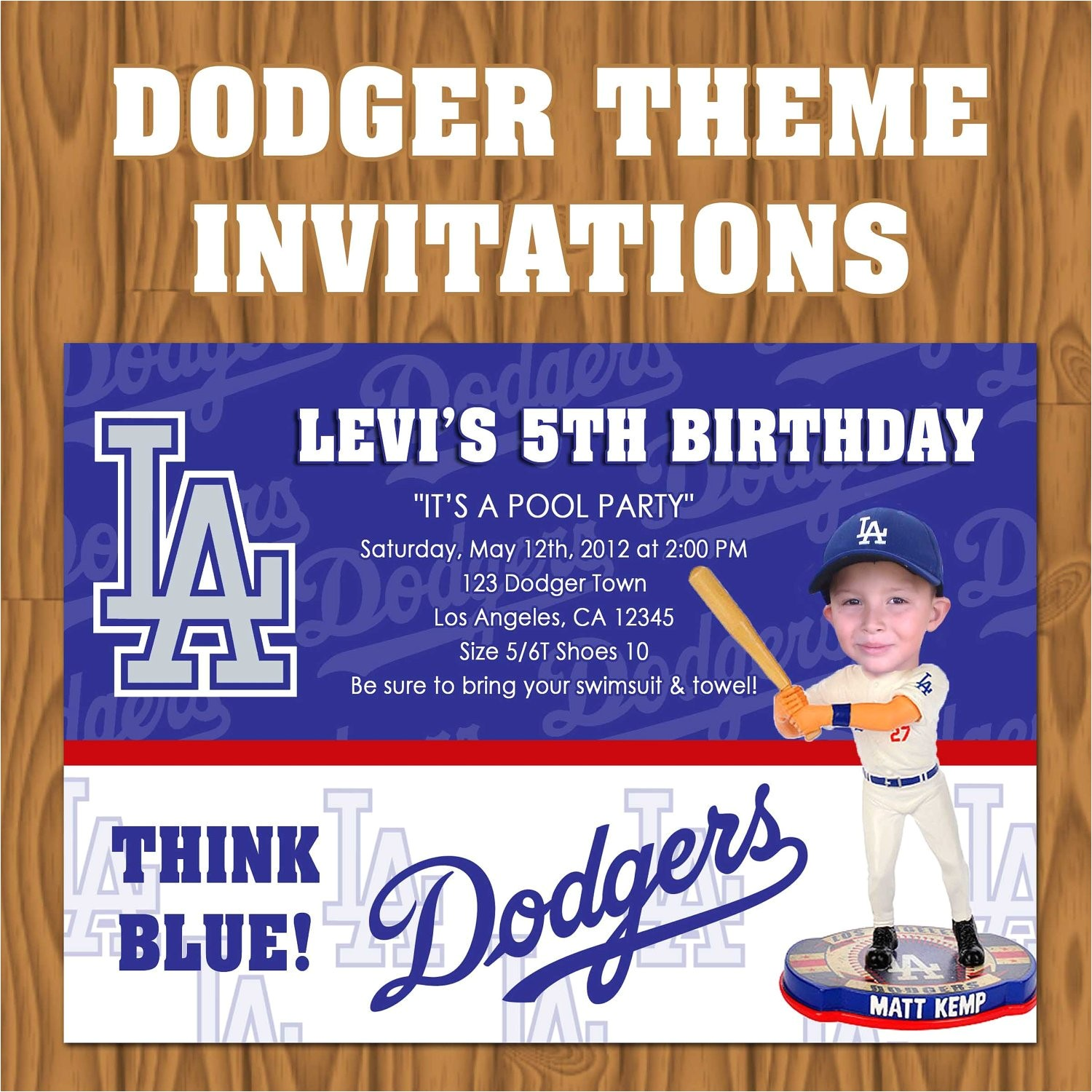 los angeles dodgers baseball theme