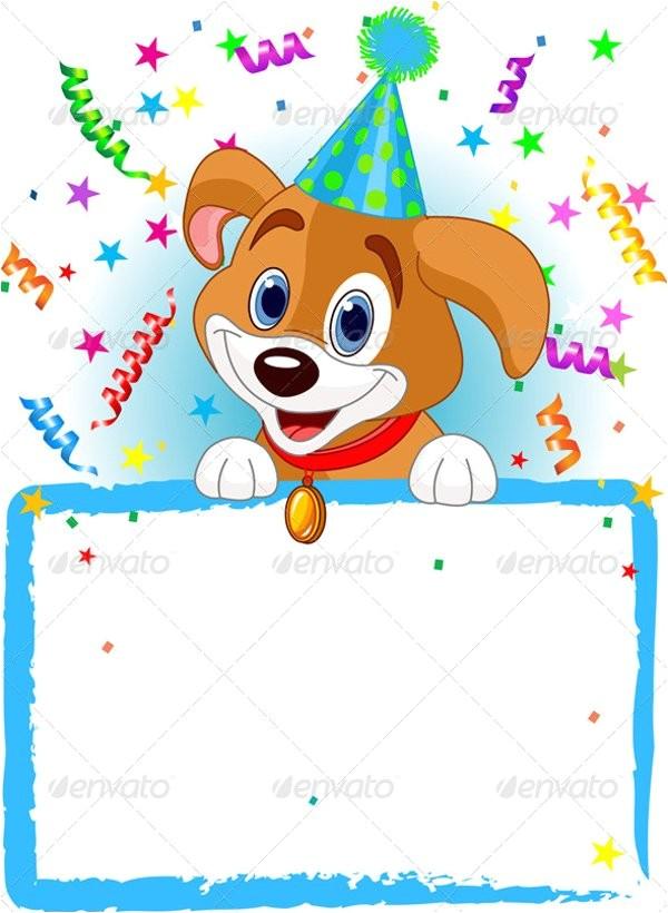 animal birthday invitation