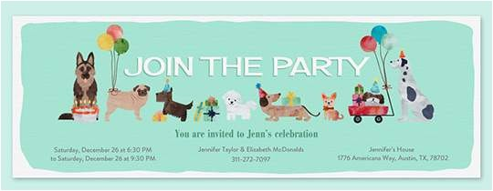 dog party invitations for simple invitations of your party invitation templates using surprising design ideas 10