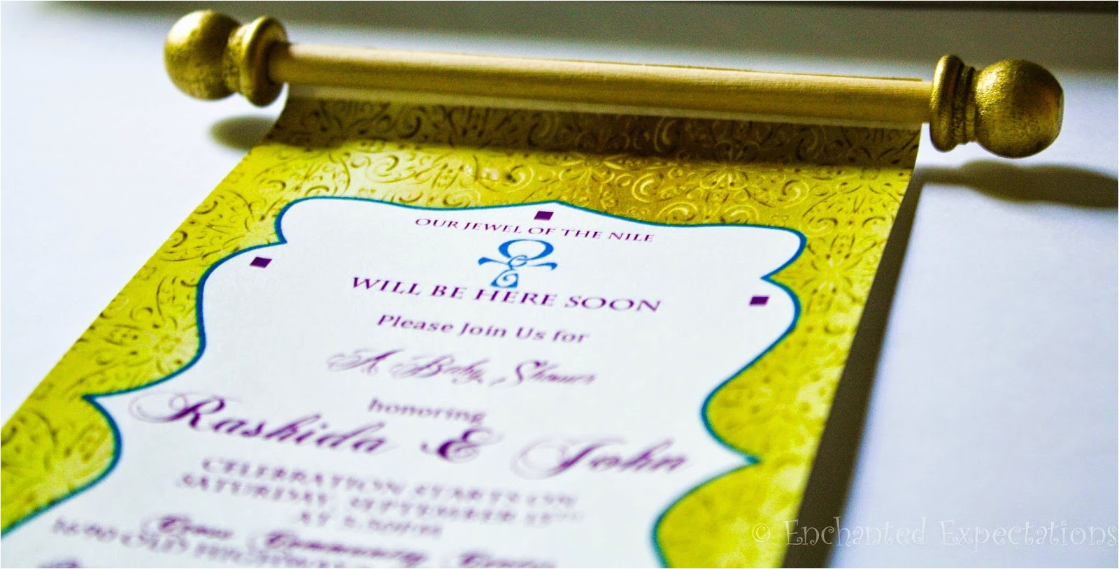 egyptian invitations