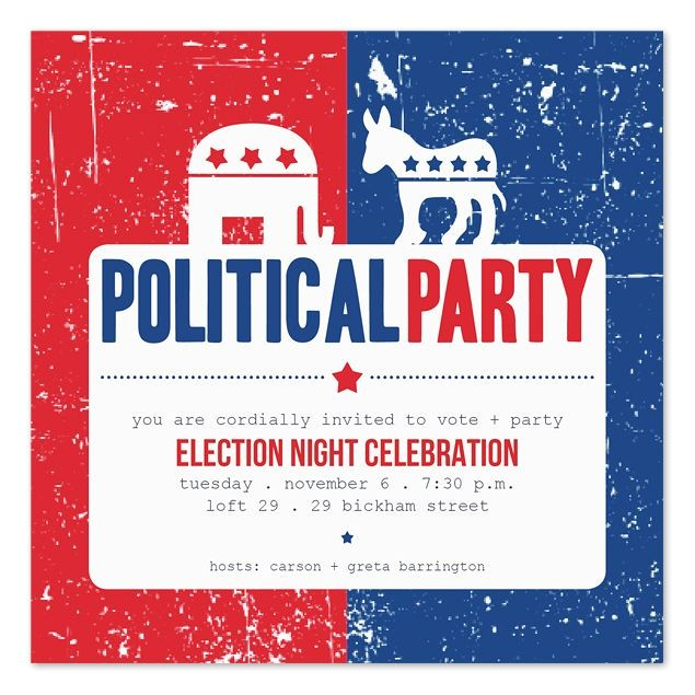 election party 2016