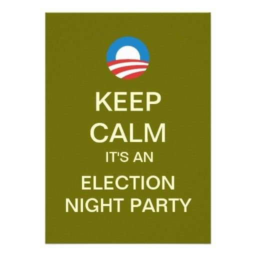 mod obama election night party invitations 161809731516667285