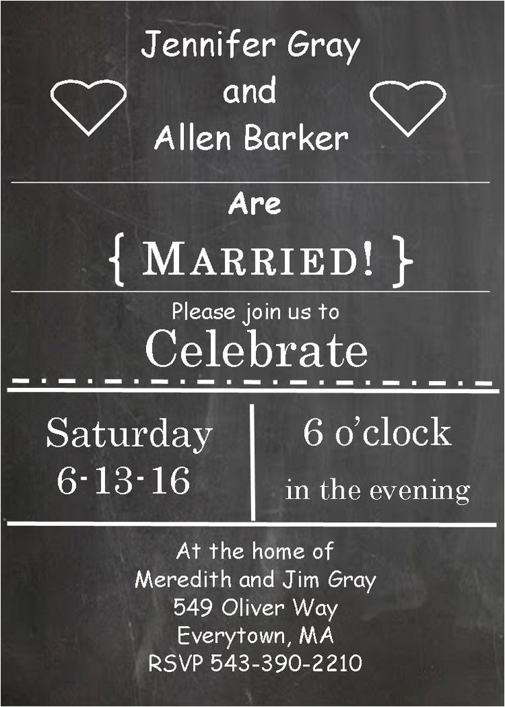 eloping party invitations invite friends to an inf