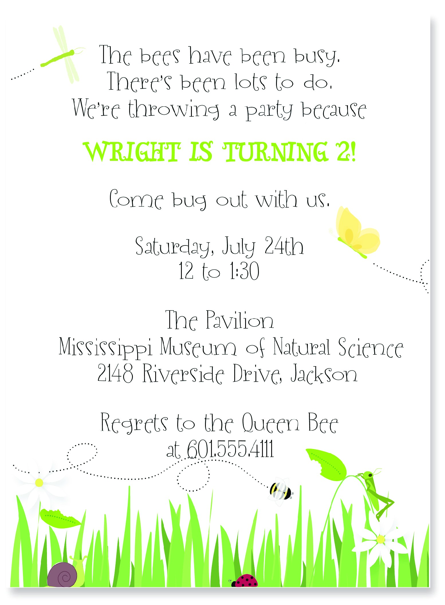 very best email party invitations example design