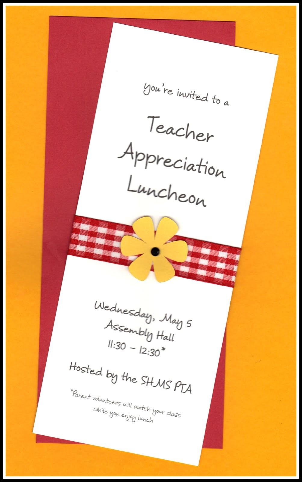 staff appreciation luncheon invitation wording