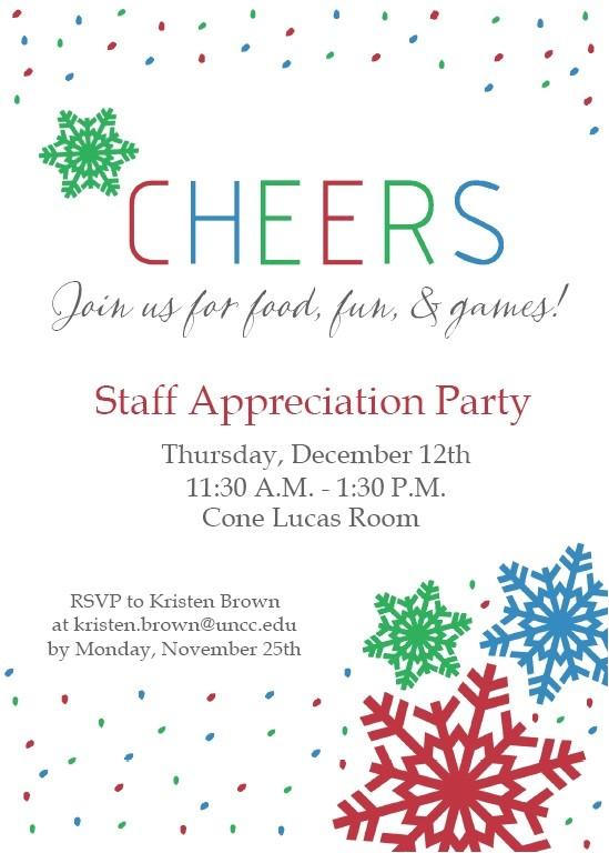 wording for employee appreciation luncheon