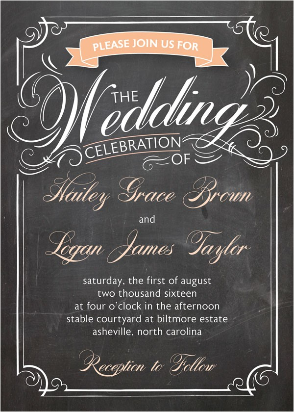 wedding invitation wording hosted by couple