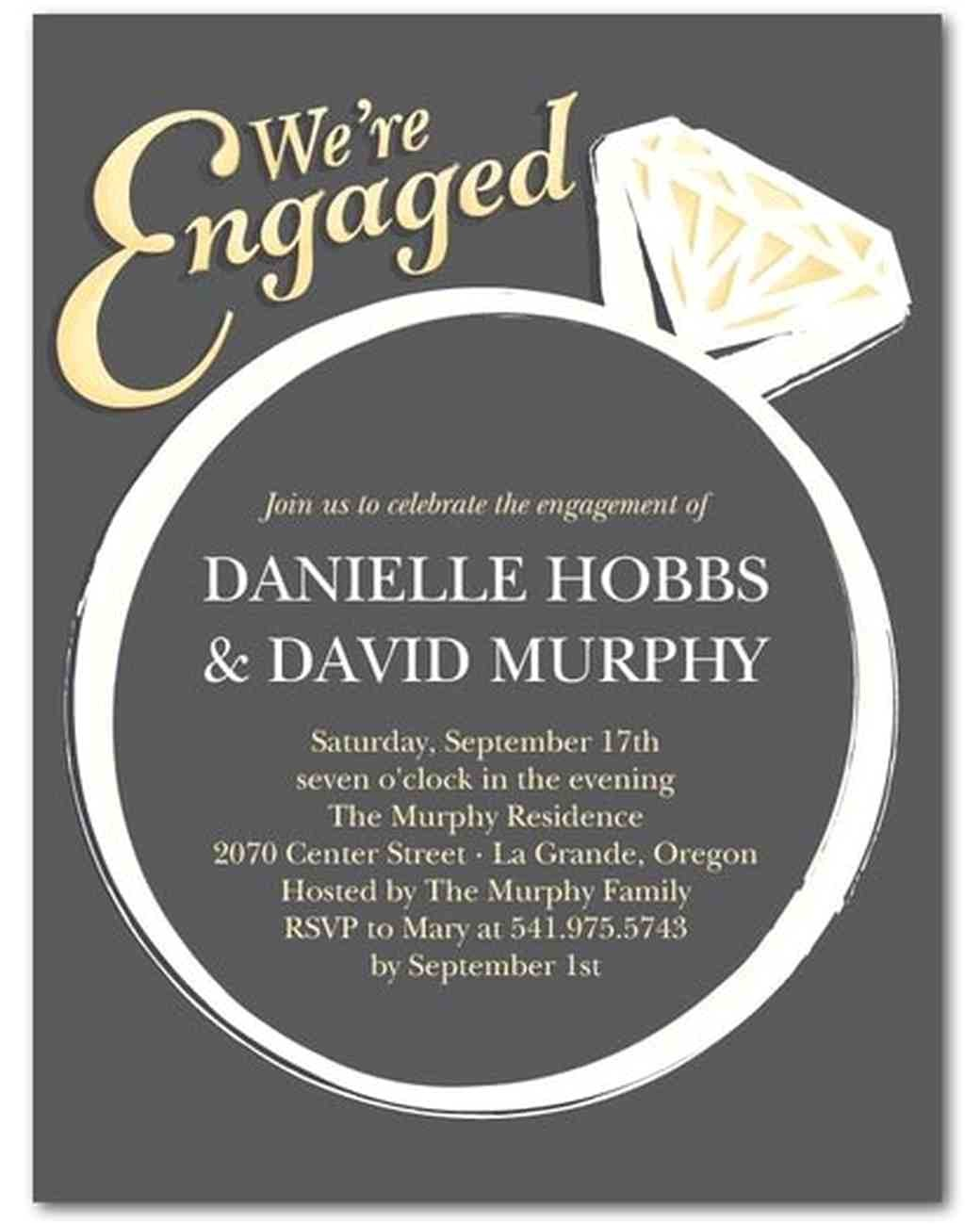Evite Engagement Party Invitations 15 Engagement Party Invitations Martha Stewart Weddings