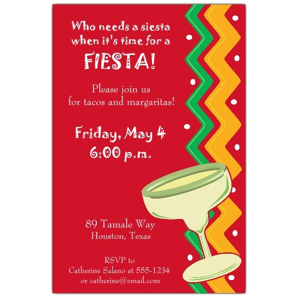 fiesta fiesta invitations p 608 46 159