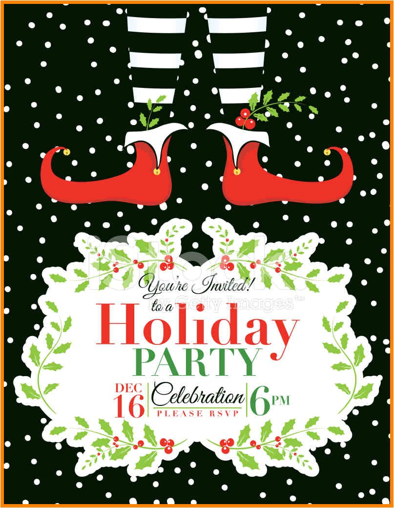 8 christmas party invitation templates