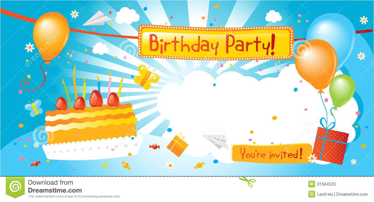 awesome birthday party invite example for people