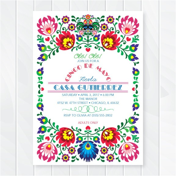cinco de mayo fiesta invitation