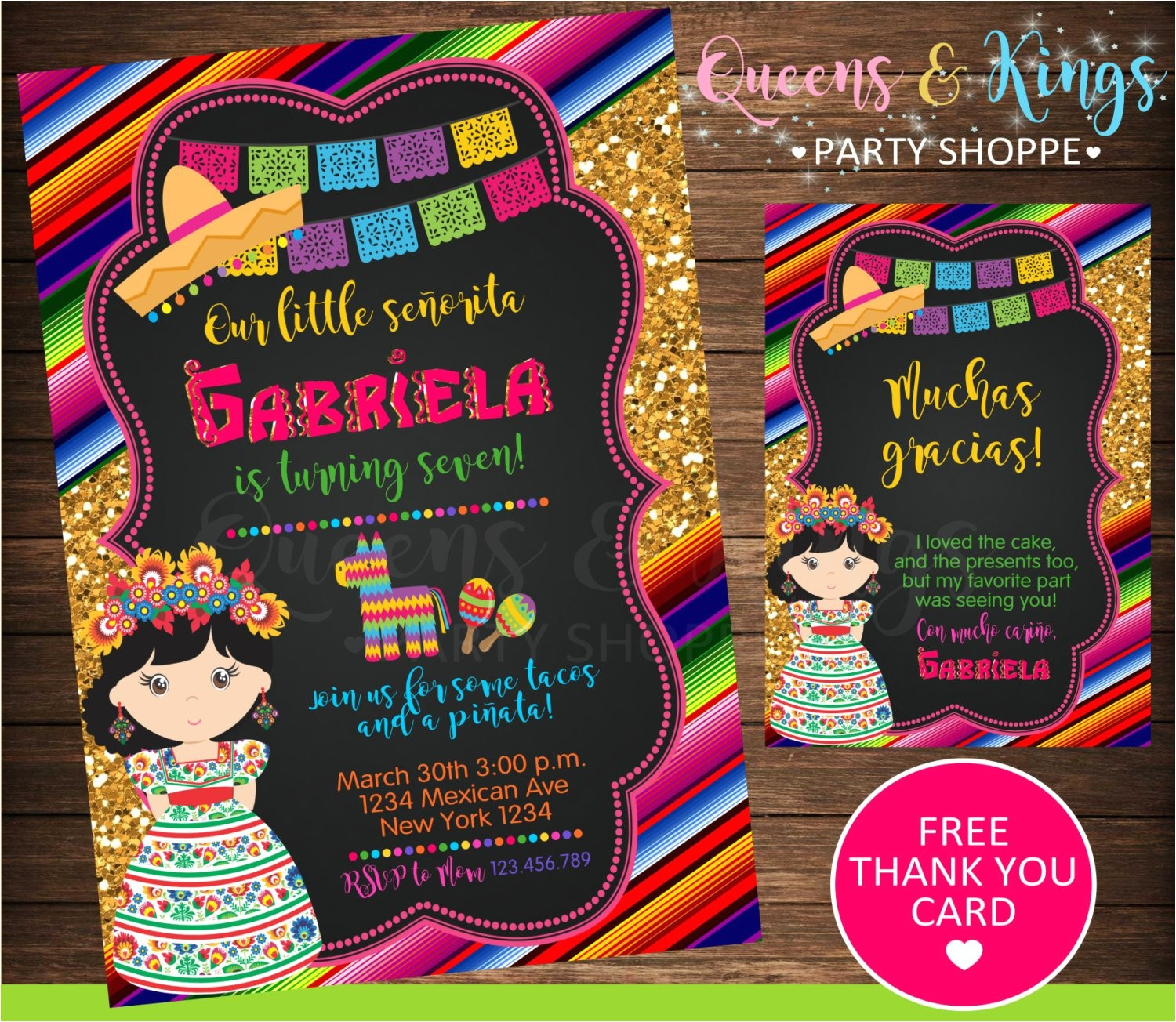 mexican party mexican invitation fiesta