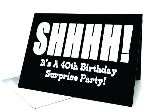 surprise 40th birthday invitations elegant surprise birthday invitations free online surprise 40th birthday invitations