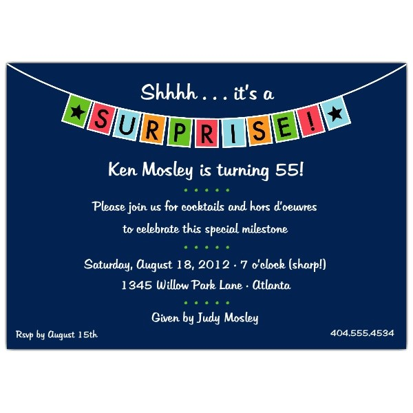 surprise birthday invitations templates free