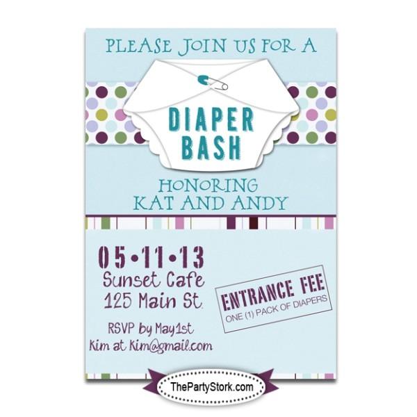 post diaper shower invitations printable 201941