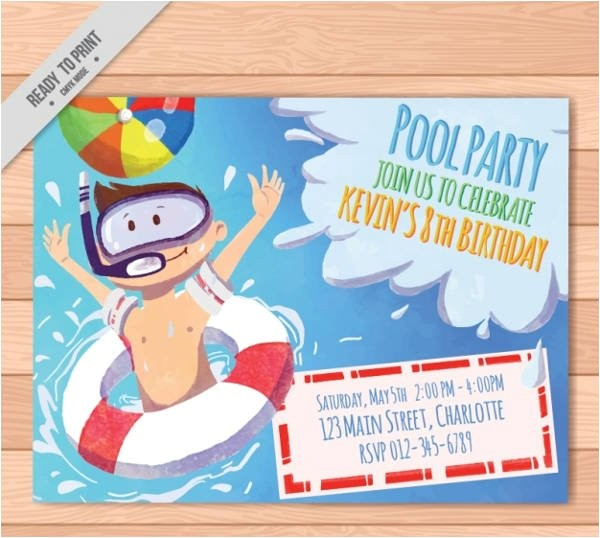 free party invitations