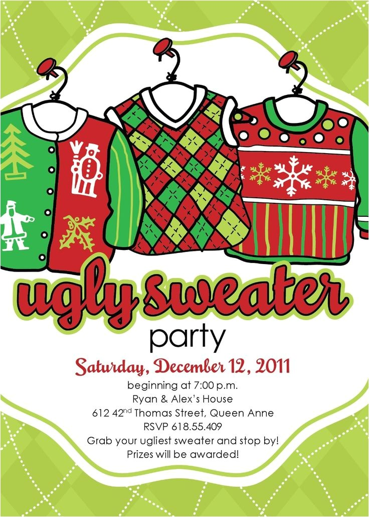 christmas ugly sweater party