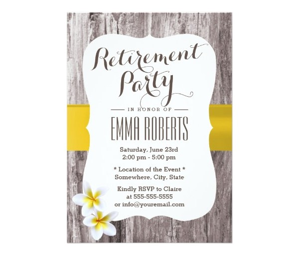 create own retirement party invitations printable