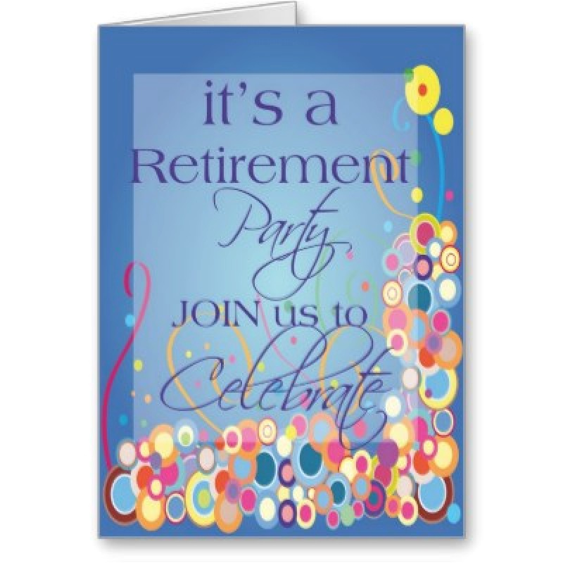 free retirement invitation