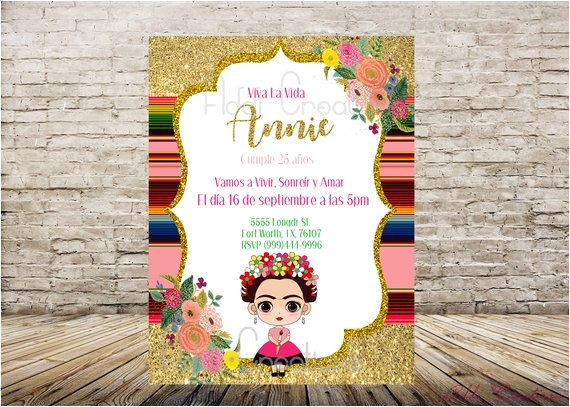 invitaciones de frida kahlo frida