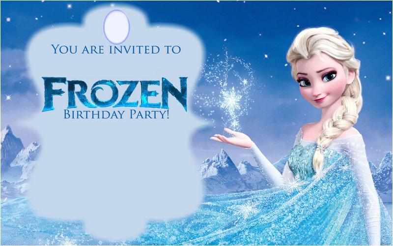 free printable frozen invitations