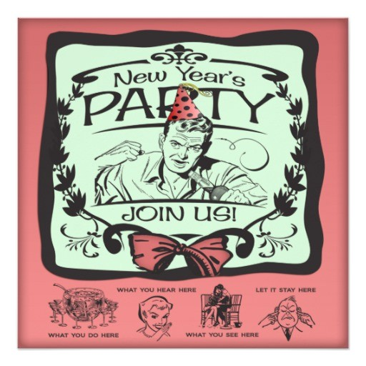 funny new years eve party invitation 161075180988653528
