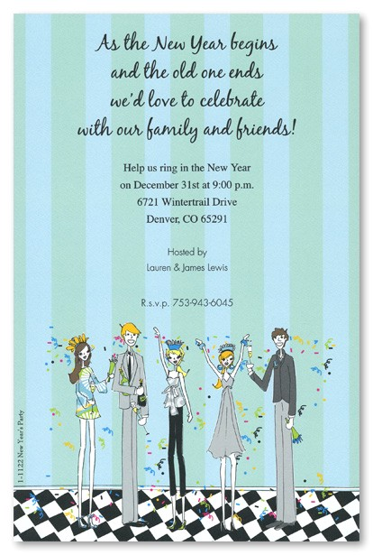 party invitation quotes for new year