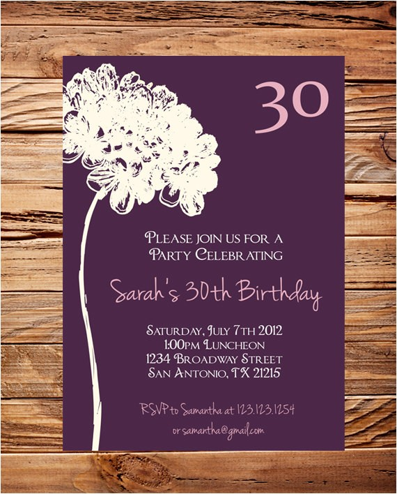 birthday invitations wording for adults
