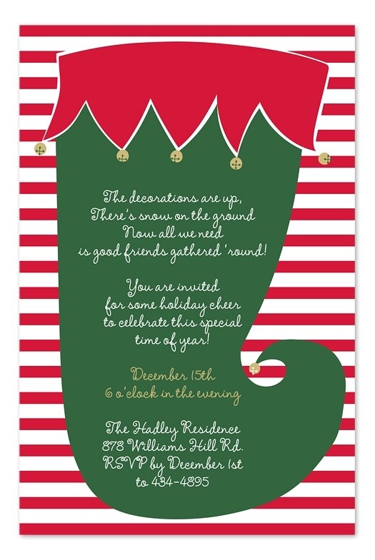 work holiday party invitation wording