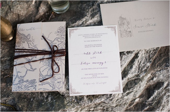 game of thrones wedding inspiration