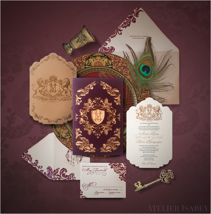 inspiration game of thrones wedding invitations