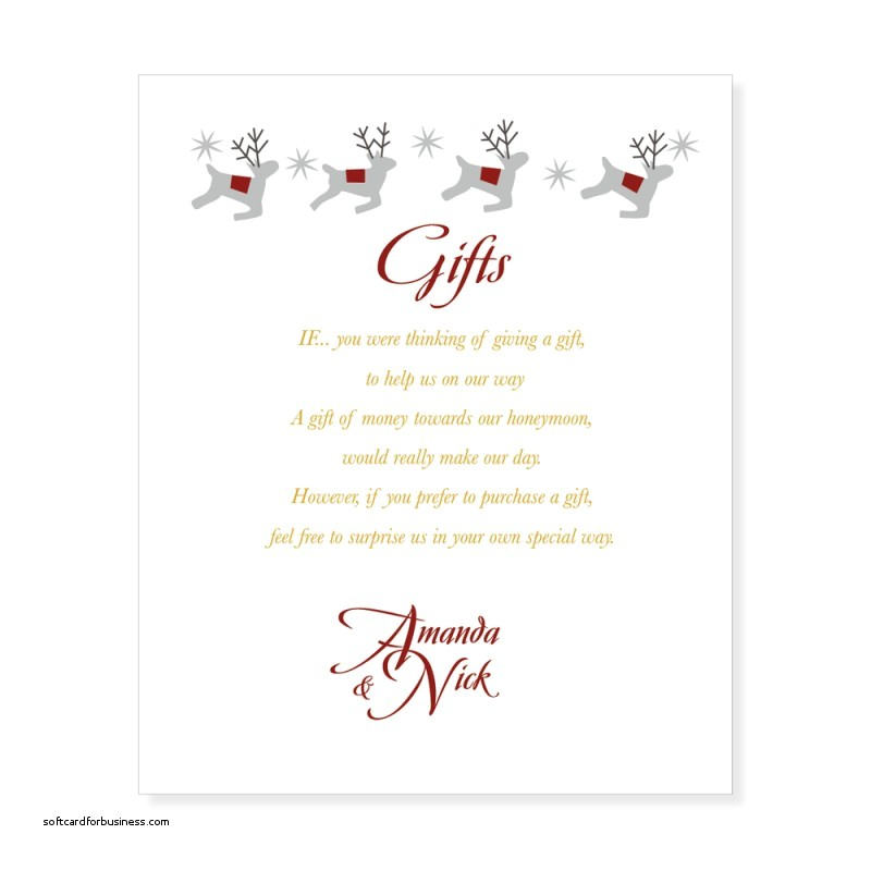 Gift Card Party Invitation Wording Wedding Invitation Lovely Gift List Wording Wedding
