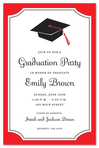Graduation Dinner Party Invitation Wording Graduation Party Invitations Party Ideas