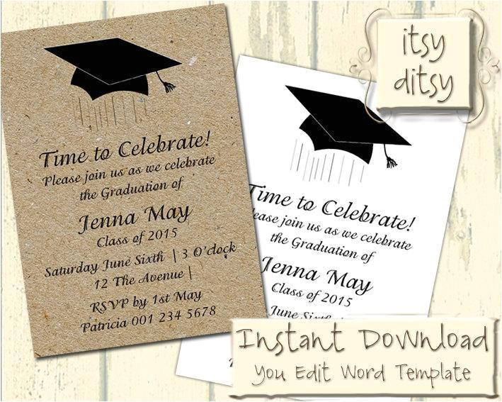 Graduation Invitation Maker Walmart Happy Birthday Invitation Cards Happy Birthday