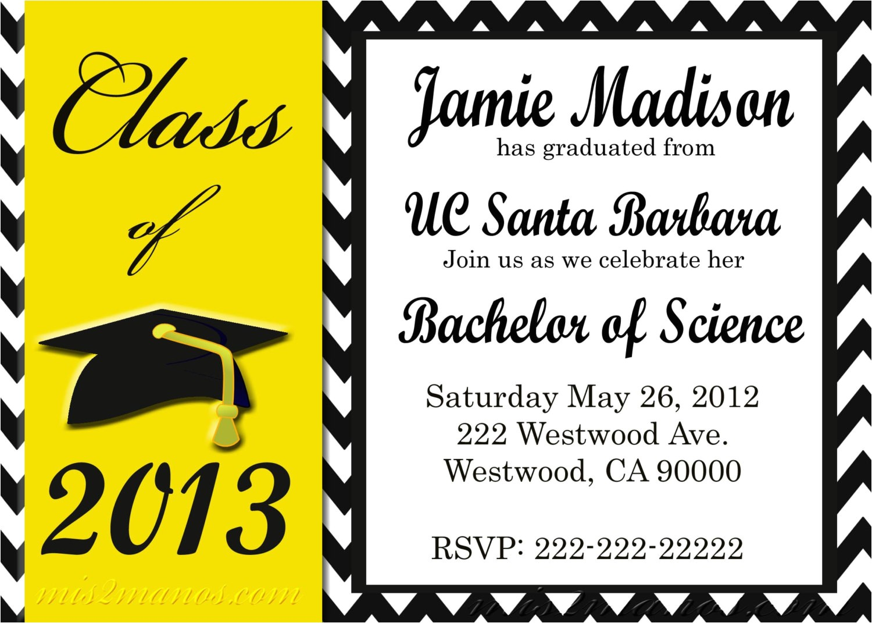 graduation invite templates