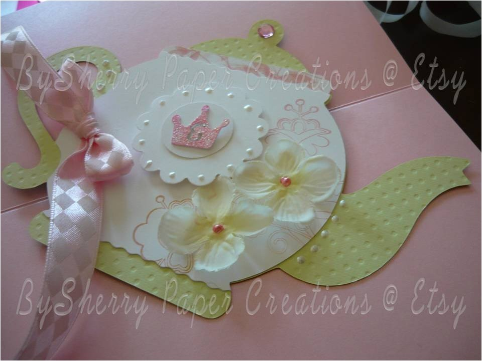 custom boutique princess tea party