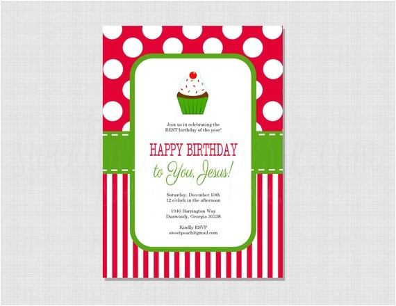 happy birthday jesus printable invitation professional 2