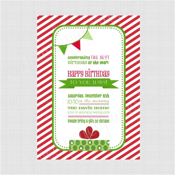 happy birthday jesus printable invitation professional
